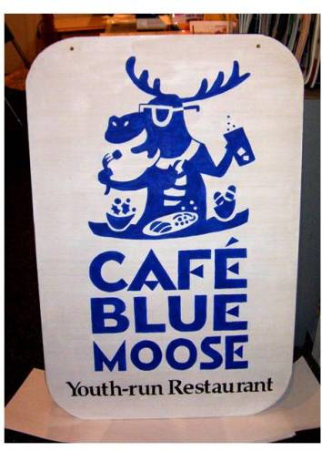 Blue Moose Cafe Hope Menu