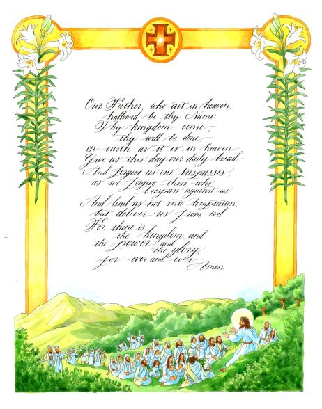 the_lords_prayer_illustrated_finish